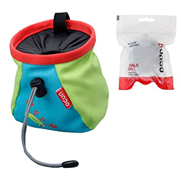 Ocun Bolsa para magnesio Lucky/Push con WildCountry - Bola y Belt, Kid Color: Amazon.es: Deportes y aire libre