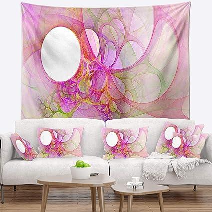 Amazon.com: Designart TAP16025-80-68 \'Light Pink Angel Wings on ...