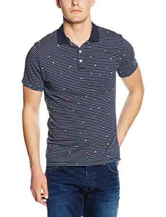 Pepe Jeans Eden, Polo Hombre, Azul (Deep Sea), L(UK): Amazon.es ...