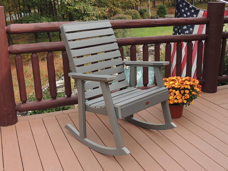Highwood Weatherly Rocking Chair, Coastal Teak