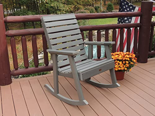Highwood AD-RKCH2-CGE Weatherly Rocking Chair - a good cheap outdoor rocking chair