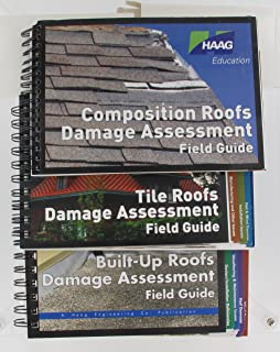 amazon com haag composition roofs damage assessment field guide rh amazon com