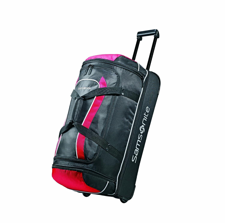Samsonite Luggage Andante Drop Bottom Wheeled Duffel, Black/Grey, 28 Inch Samsonite Corporation 48827