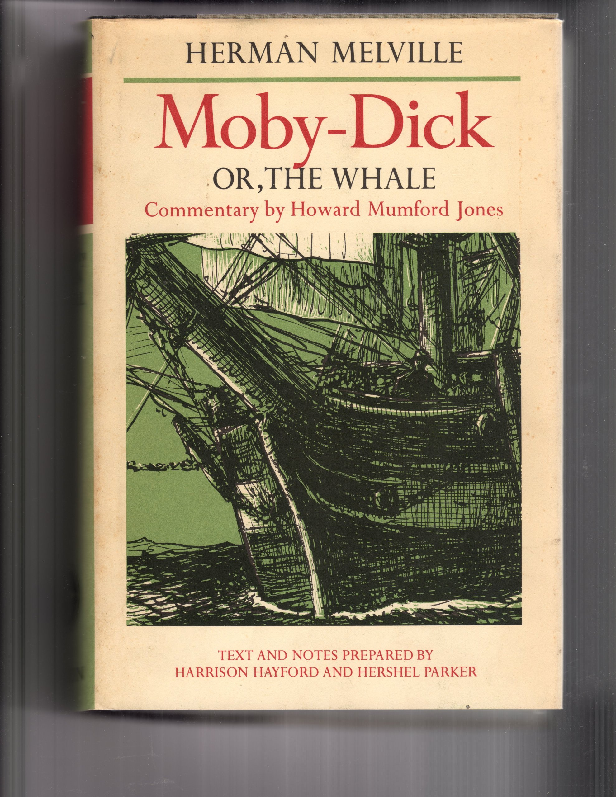 Moby Dick Whale Commentary Howard Mumford