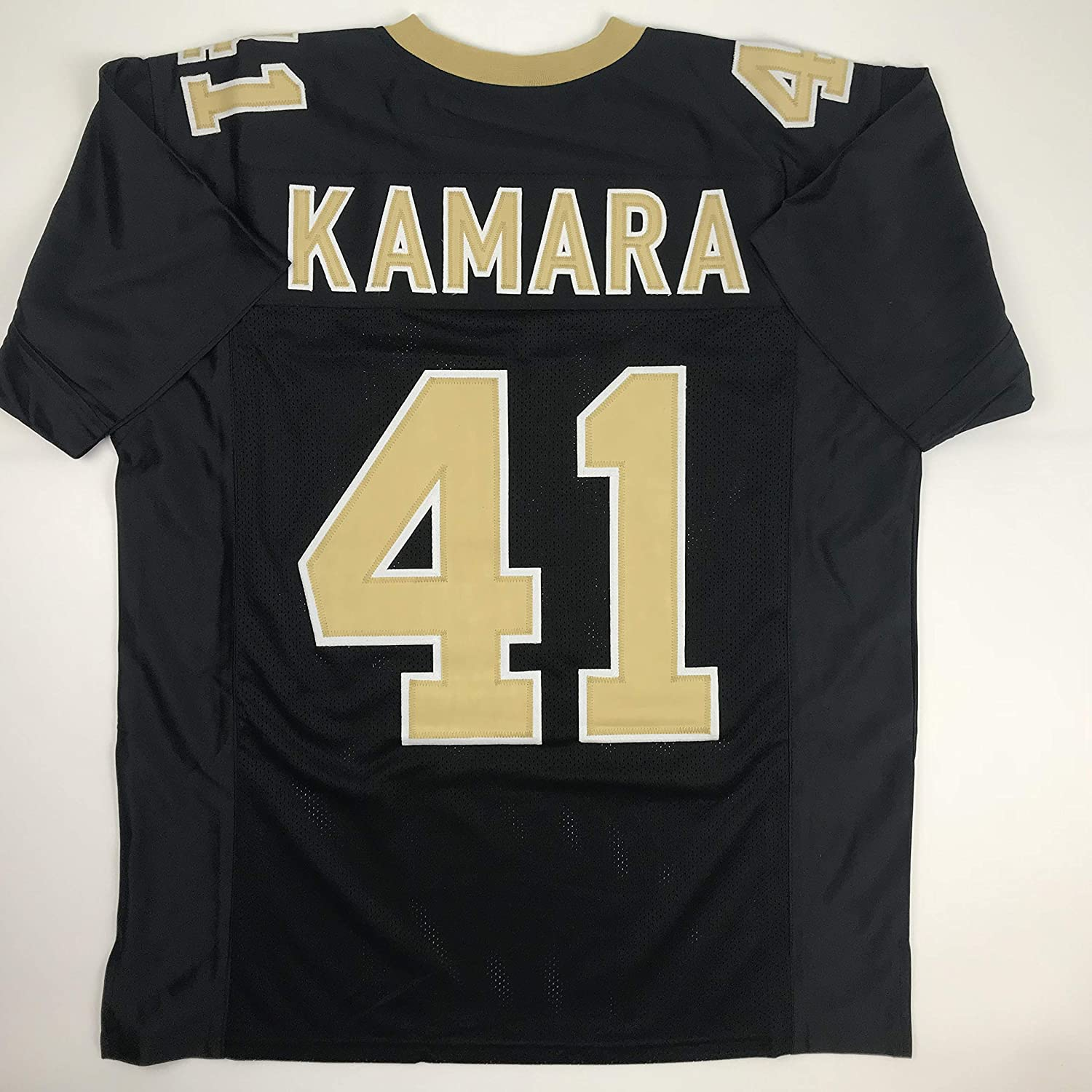 brand new 47cc2 c75a2 Unsigned Alvin Kamara New Orleans Black Custom Stitched Football Jersey  Size Men's XL New No Brands/Logos