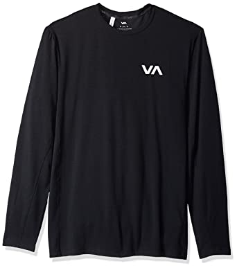 b4a911afa Amazon.com: RVCA Men's Va Vent Long Sleeve Top: Clothing