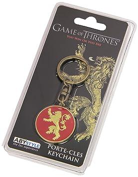 ABYstyle - GAME OF THRONES - Llavero - Lannister: Amazon.es ...