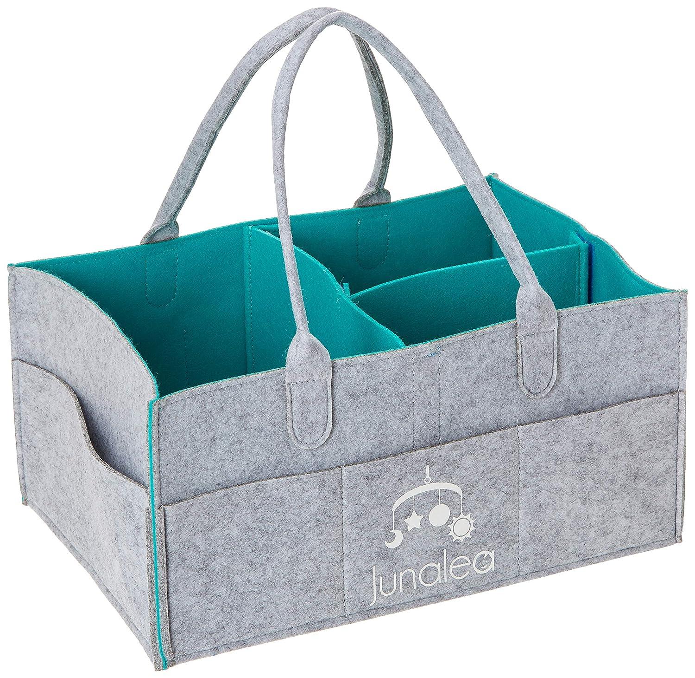 Amazon.com: junalea bebé pañal Caddy Organizador Portátil ...