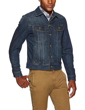 a78db001 Lee Men's Denim Jacket at Amazon Men's Clothing store: Blue Jean Jacket