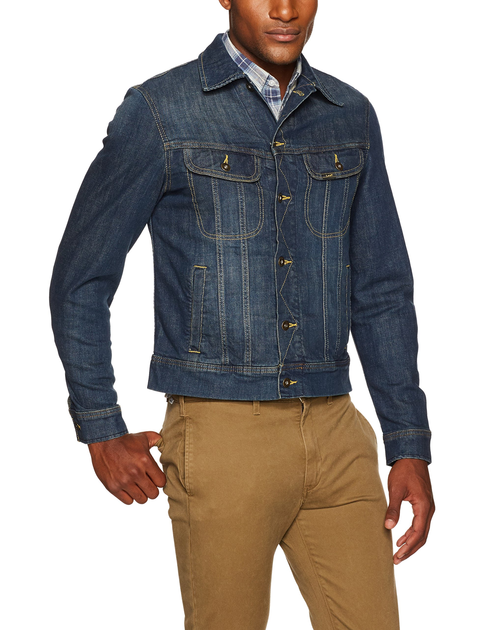 LEE Men's Denim Jacket, Radler, Medium by LEE