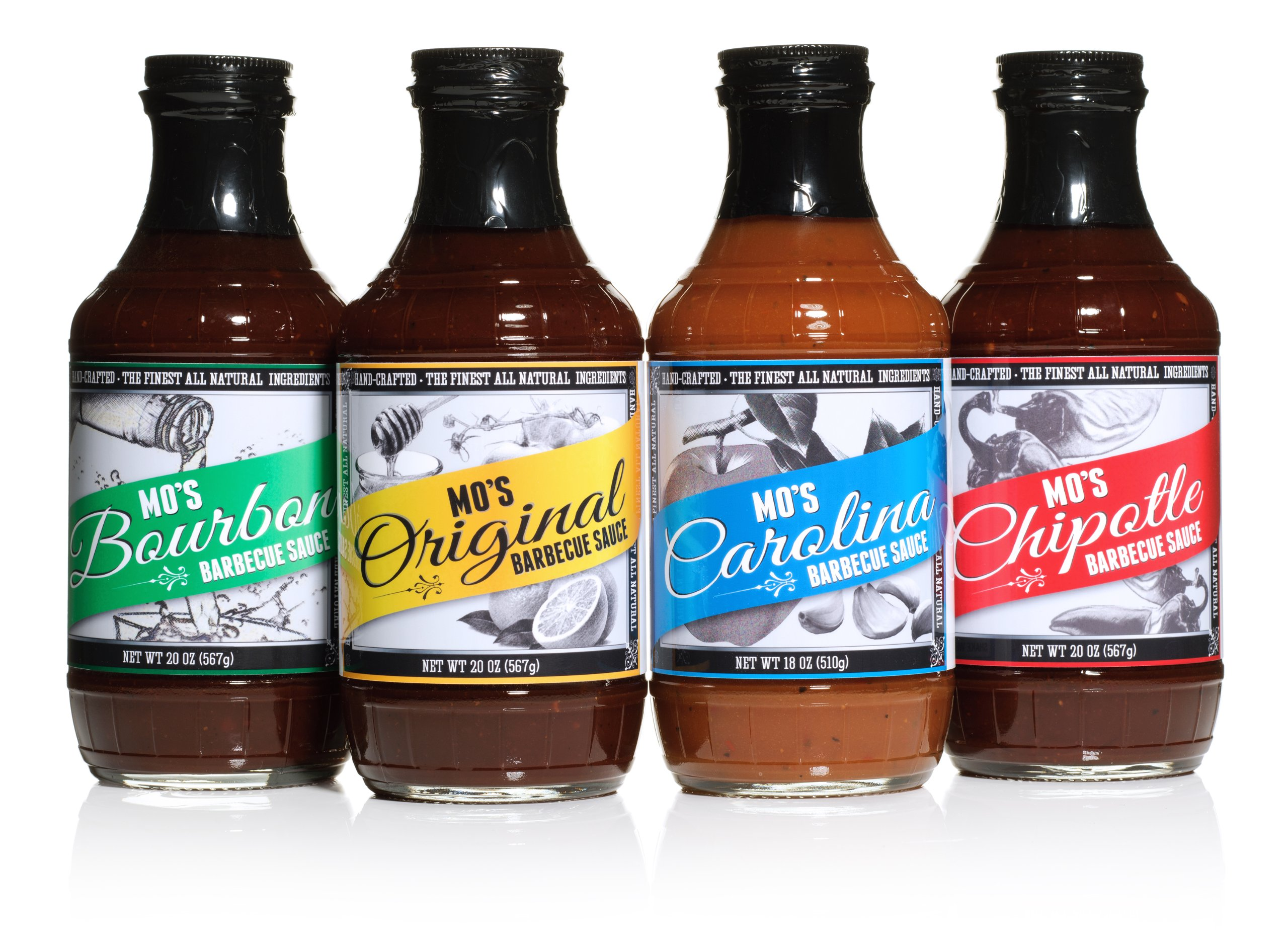Mo's Barbecue Sauce Variety Pack