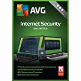 AVG Internet Security 2018 Unlimited 1 Year [Online Code]