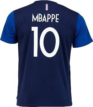 Equipo de Fútbol de Francia, camiseta de la FFF – Jugador Kylian ...
