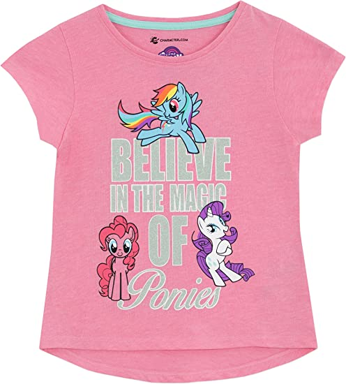 6 or 6X MY LITTLE PONY Fashion Cotton Tops Tees T-Shirt NEW Girls Size 4 5