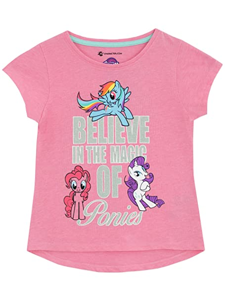 b8432375d Amazon.com: My Little Pony Girls T-Shirt Size 3T: Clothing