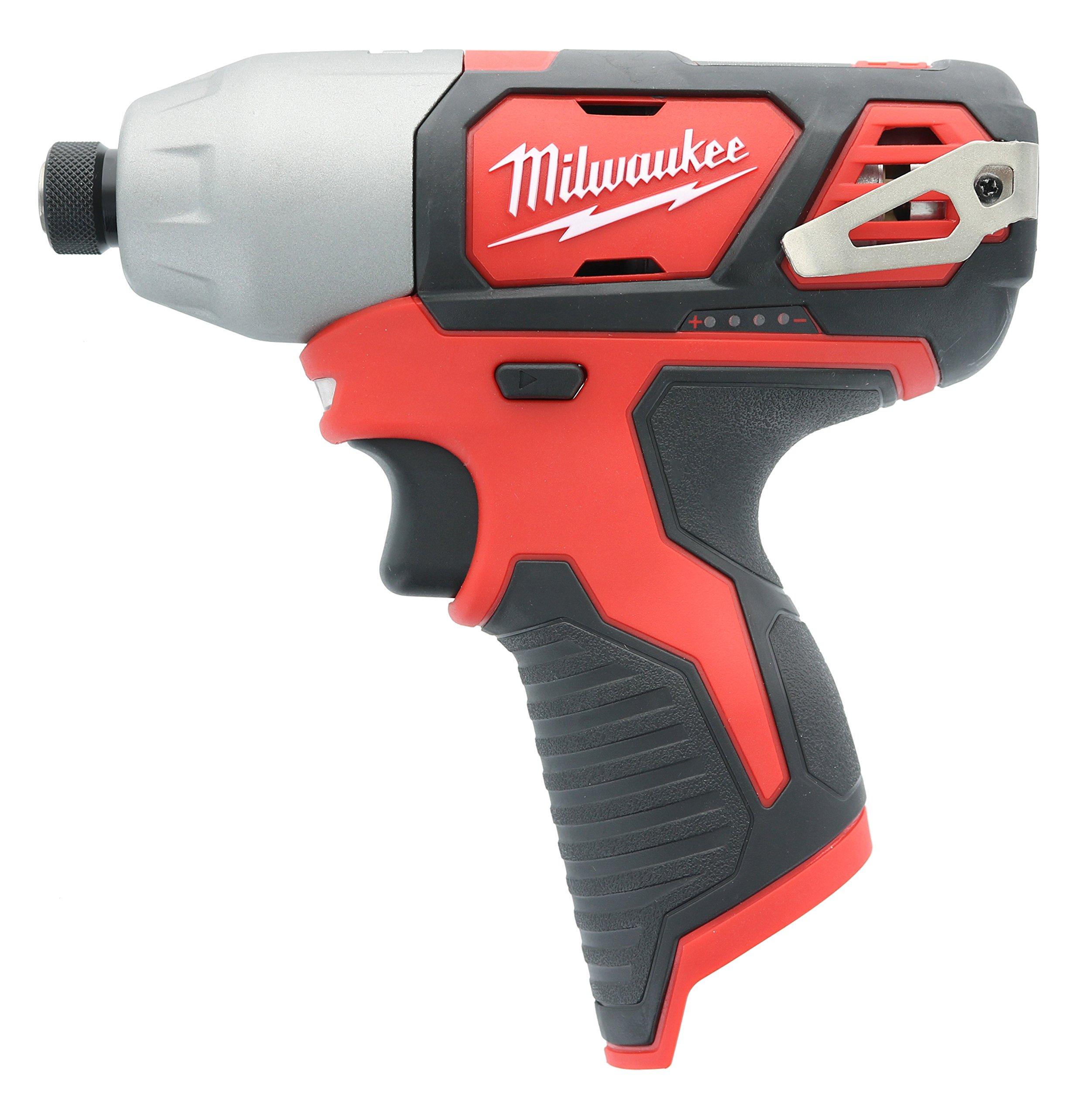 "Bare Tool New Milwaukee 2462-20 M12 12V Li-Ion 1//4/"" Cordless Impact Driver"