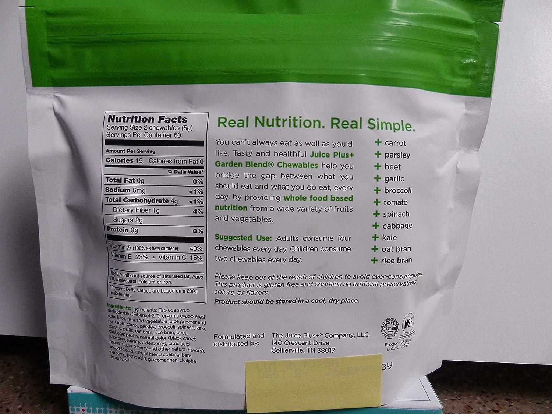 Juice Plus Chewable Vitamins – 2 Month Supply For Children Orchard Garden Blend