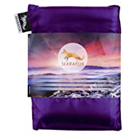 Silkrafox ultralight sleeping bag liner, artificial silk inlett, perfect for hiking, backpacking, outdoor activities