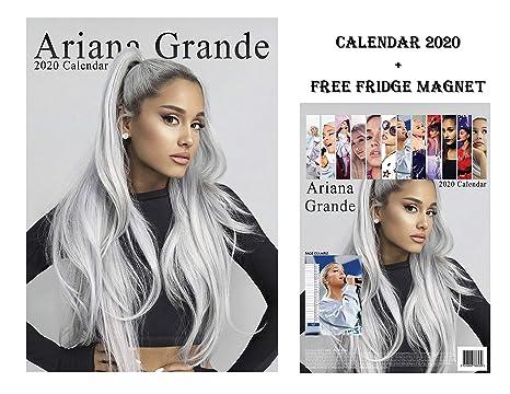 Calendario Ariana Grande 2020.Ariana Grande Calendario 2020 Ariana Grande Frigorifero