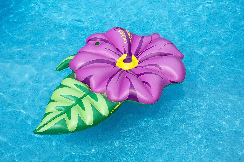 Amazon.com: Swimline flor de hibisco flotador piscina ...