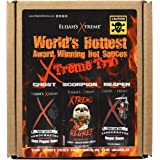 World's Hottest Hot Sauce Gift Set, Elijah's Xtreme Award Winning Hot Sauce Variety Pack Includes Ghost Pepper Hot Sauce, Sco