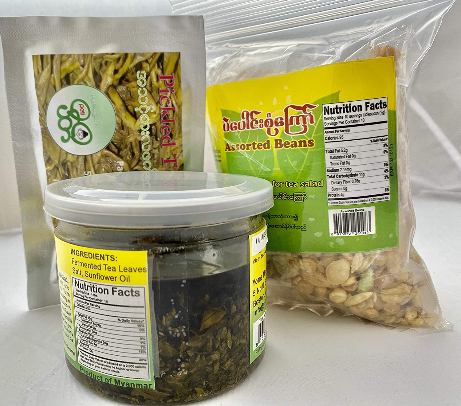 Burmese Tea Salad Kit