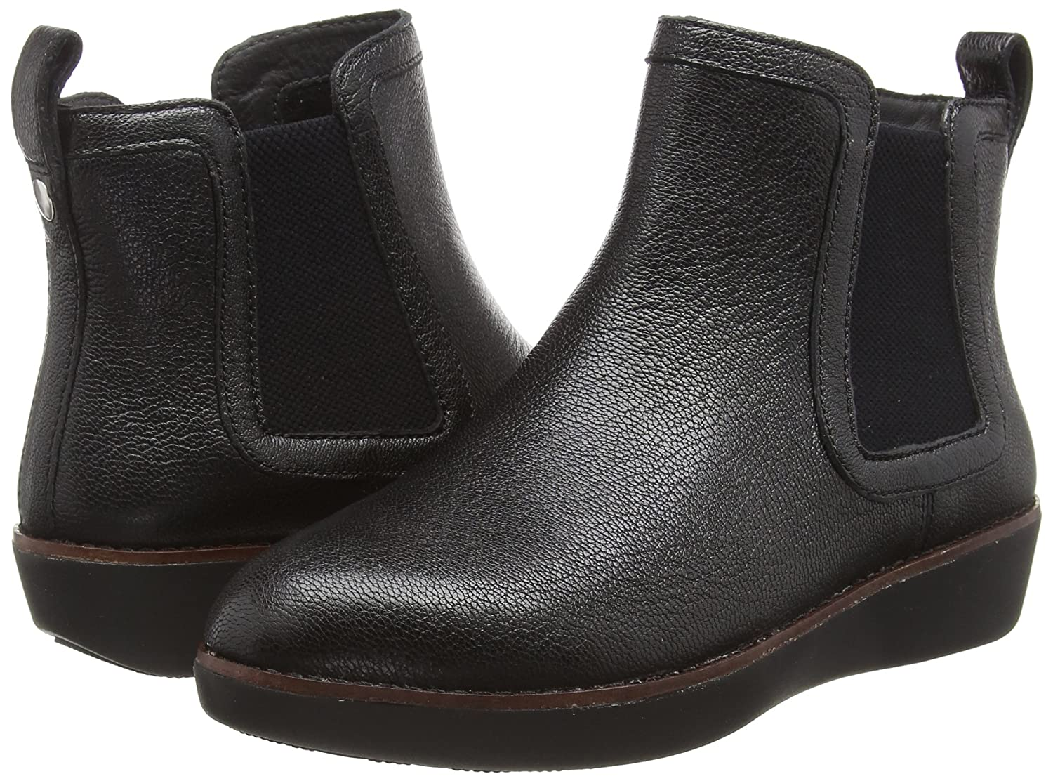 FitFlop Trade; Chai™ Leather Chelsea Boots B0792L54YD 11 B(M) US|Black
