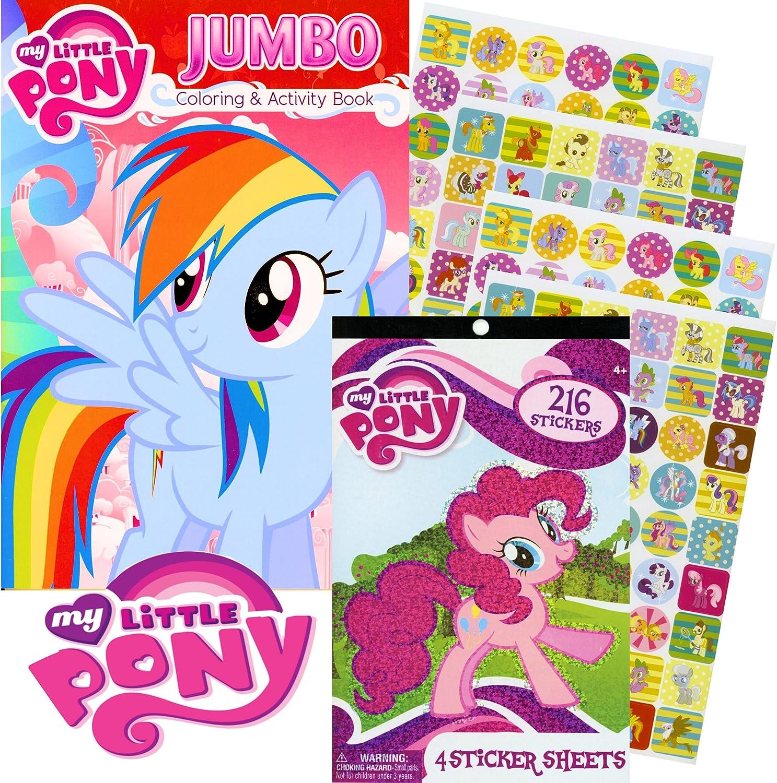 - Amazon.com: My Little Pony® Rainbow Dash Coloring Book & Stickers