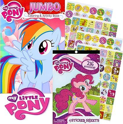 - Amazon.com: My Little Pony Rainbow Dash Coloring Book & Stickers ~ (96 Pg Coloring  Book & 216 Stickers): Toys & Games