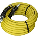 """Good Year 12630 Rubber Pressure Washer Hose, 50' x 3/8"""", Yellow"""