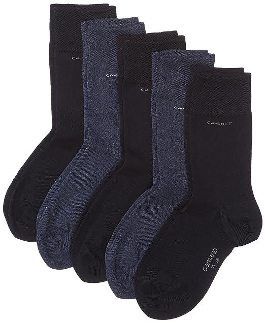 Camano 3642 Ca-Soft Socks 5 Paar - Calcetines para hombre, color blau (