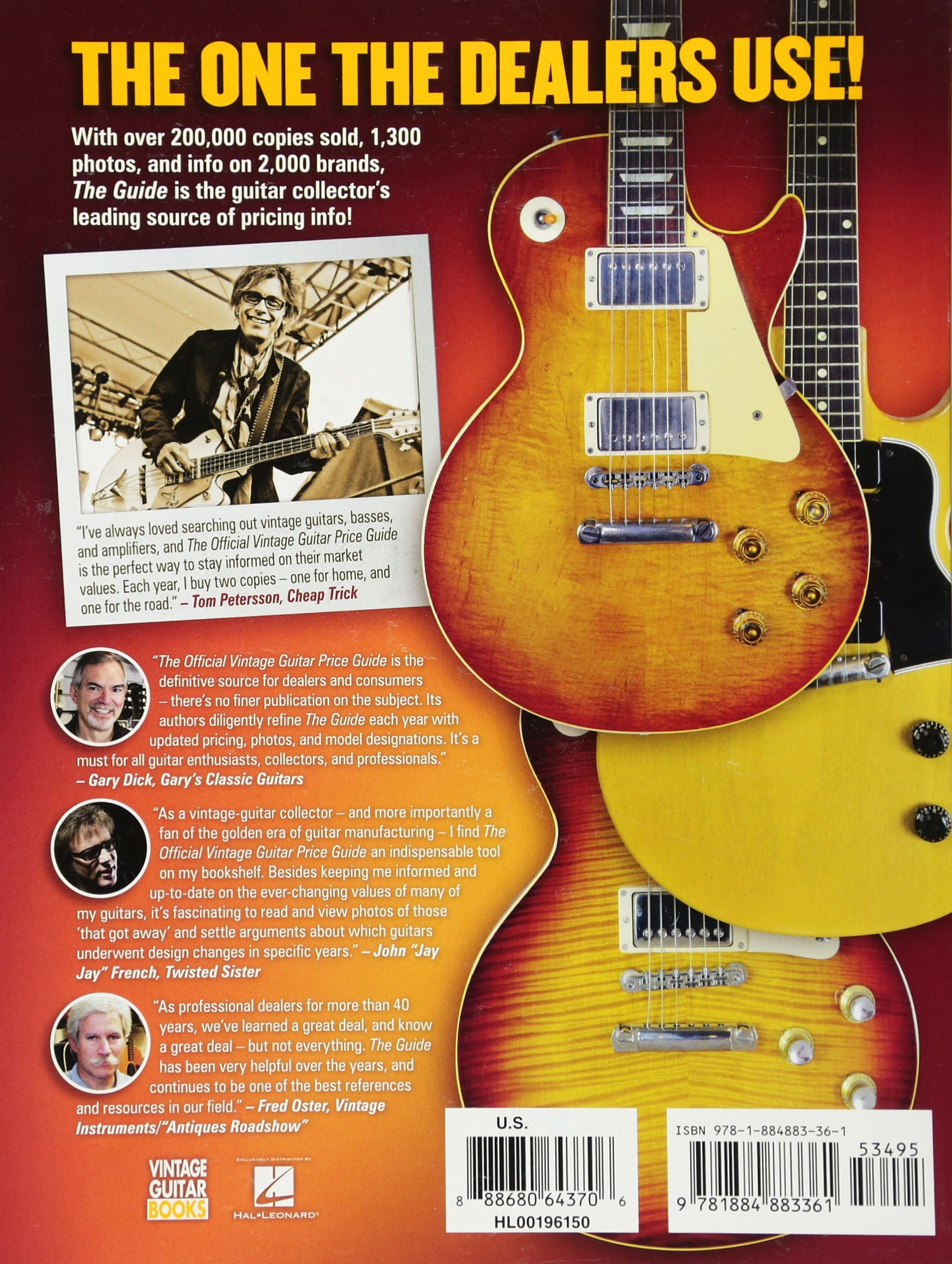 The Official Vintage Guitar Magazine Price Guide 2017: Alan ...