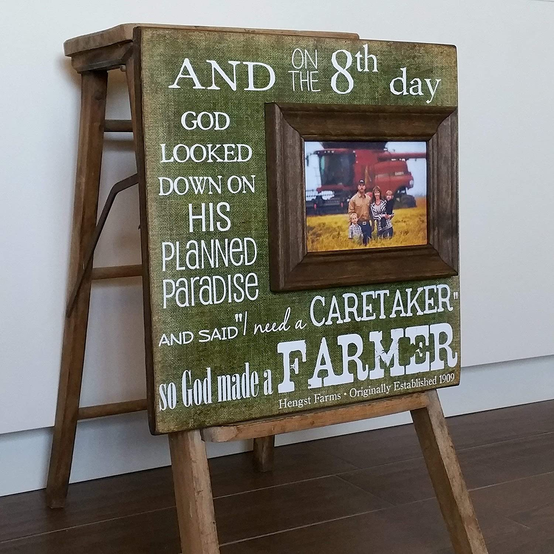 Amazoncom Farmer Gift For Farmer So God Made A Farmer Farmhouse