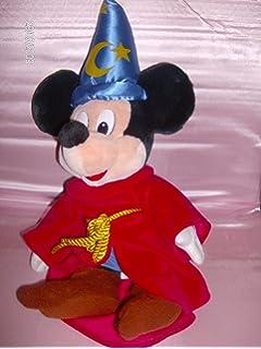 peluche disney mickey magicien