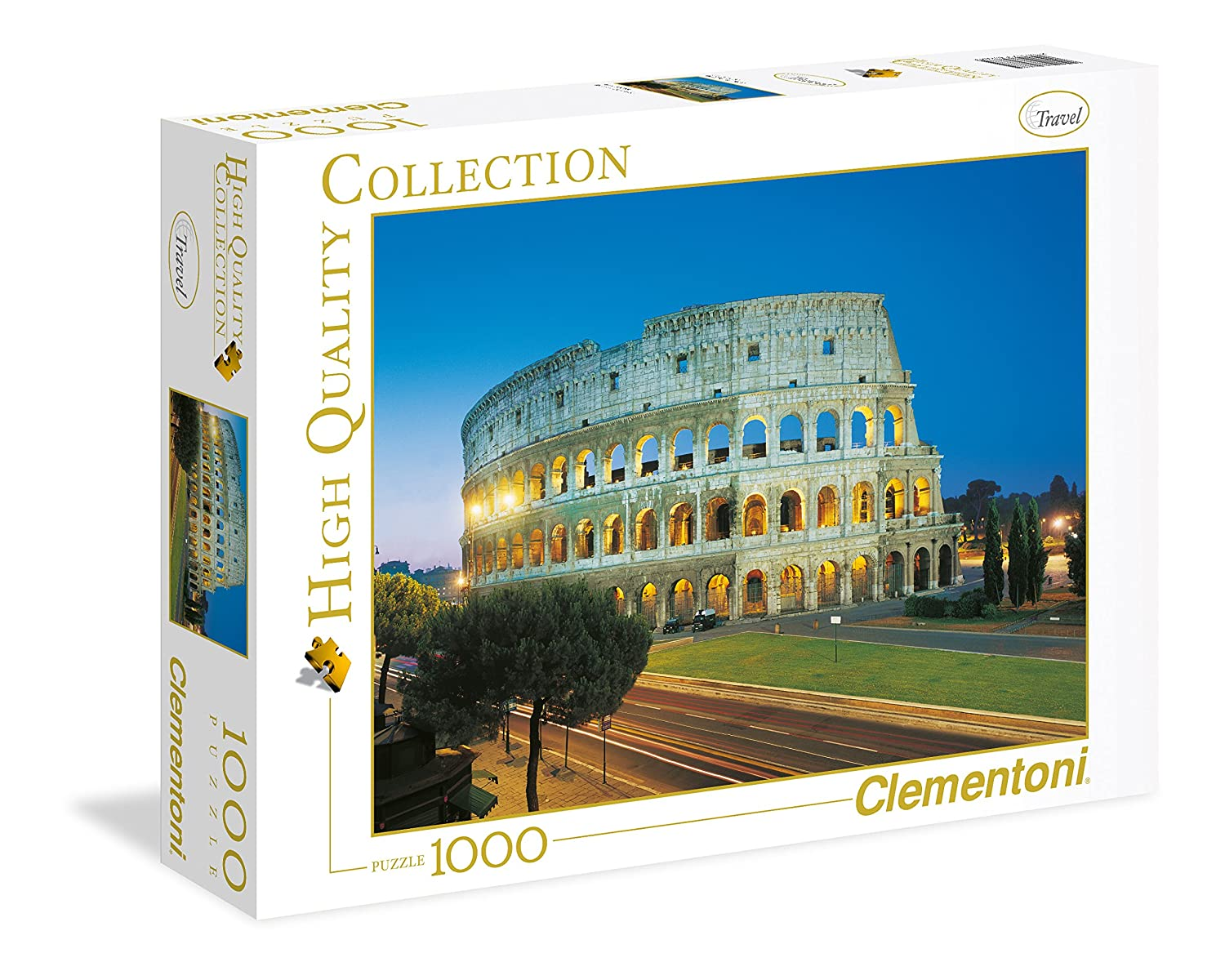 1000 Pezzi Waterfall High Quality Collection Puzzle 39385 Clementoni