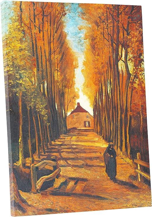 Vincent Van Gogh Poplars near Nuenen Giclee Canvas Print Paintings Poster Reprod