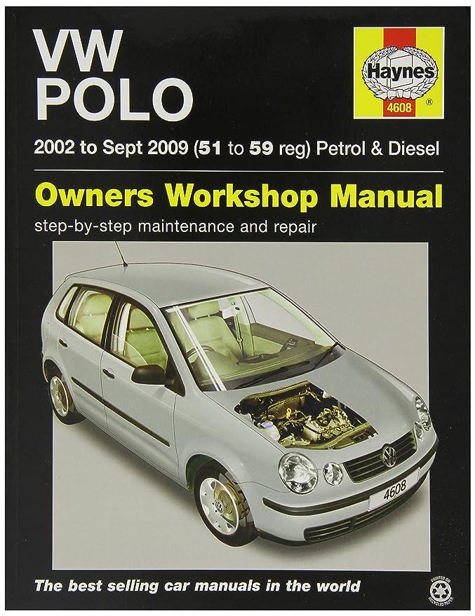 haynes 4608 car maintenance service and repair manual amazon co uk rh amazon co uk Modified Polo 2002 Polo 2002 Interior