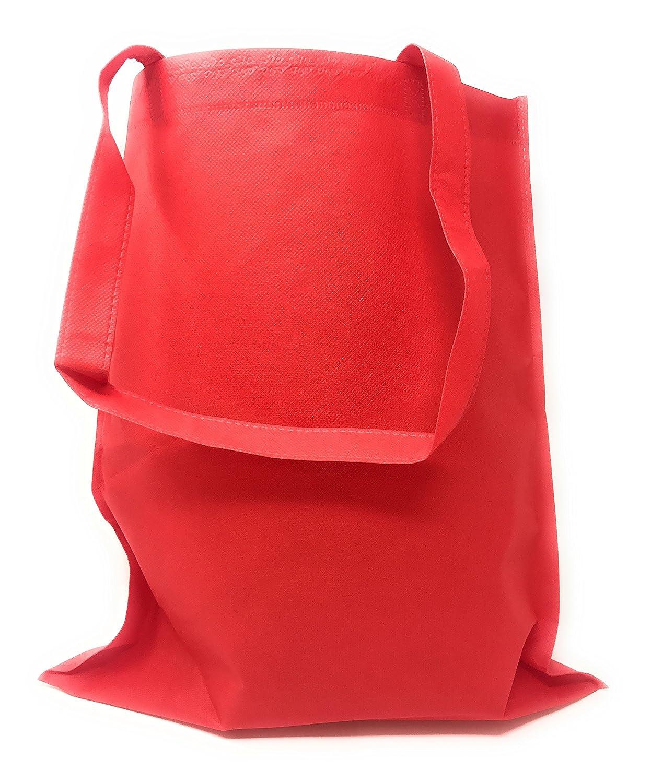 50 Bulk Tote Bag Mega Pack - Reusable Shopping Bags (Black)