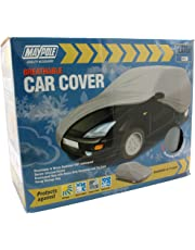 Maypole 9871 Breathable Full Car Cover, Grey, Large