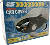 Maypole 9871 Breathable Full Car Cover, Black, Large