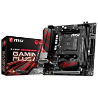 MSI Performance Gaming AMD Ryzen 1st and 2nd Gen AM4 M.2 USB 3 DDR4 HDMI Display Port Mini-ITX Motherboard (B450I Gaming Plus AC)