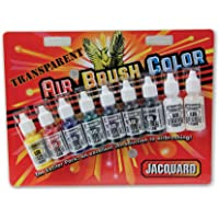 Jacquard Jac Exciter Airbrush Transparent Paint Pack
