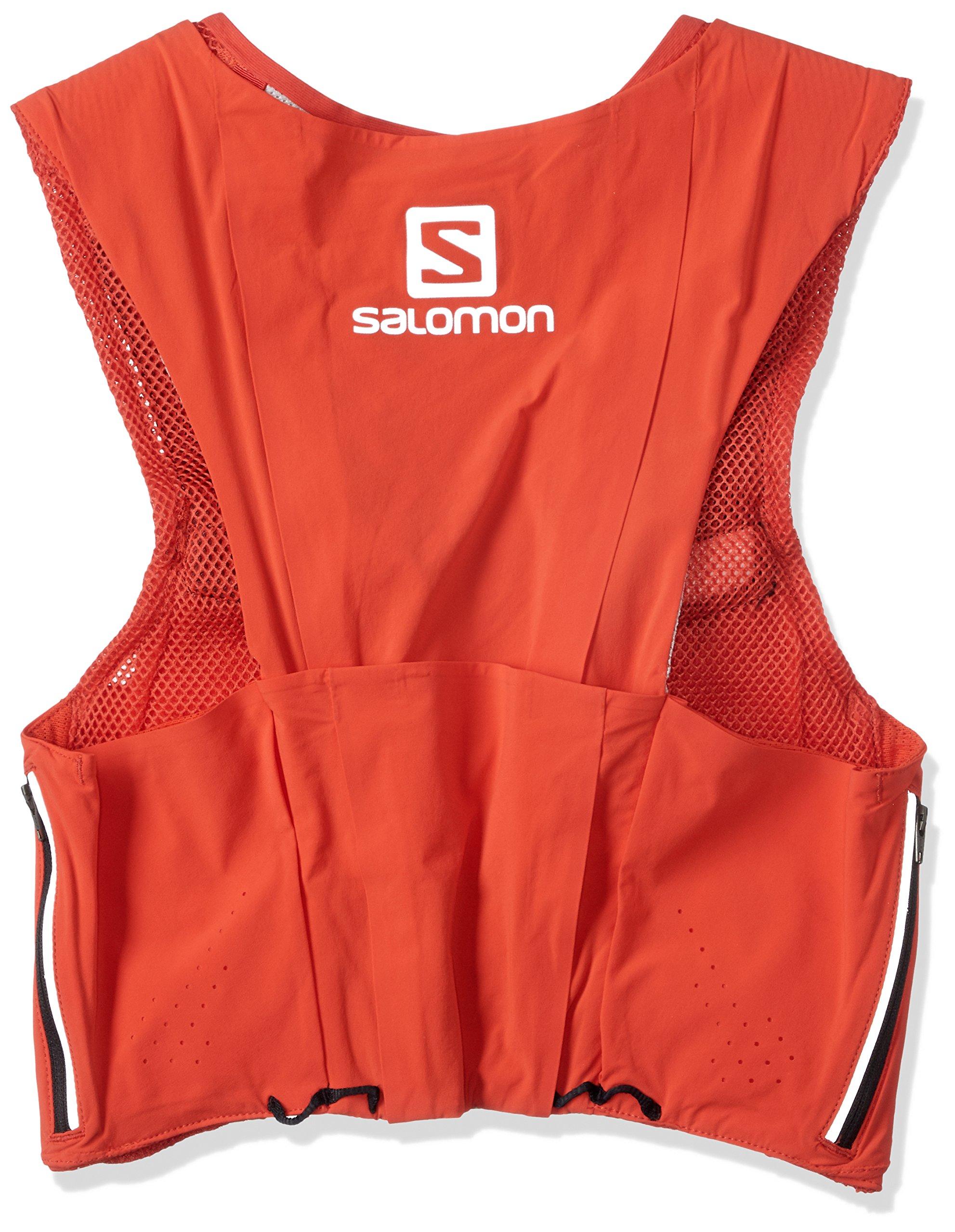 Salomon Unisex S/Lab Sense Ultra 8 Set Hydration Vest, Racing Red, Large by Salomon (Image #2)