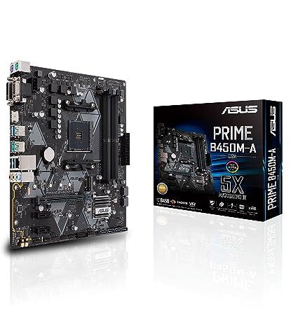 Amazon com: Asus Prime B450M-A/CSM AMD Ryzen 2 AM4 DDR4 HDMI