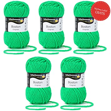 Myoma Boston Wolle Schachenmayr Strickgarn Neon Grüne Wolle