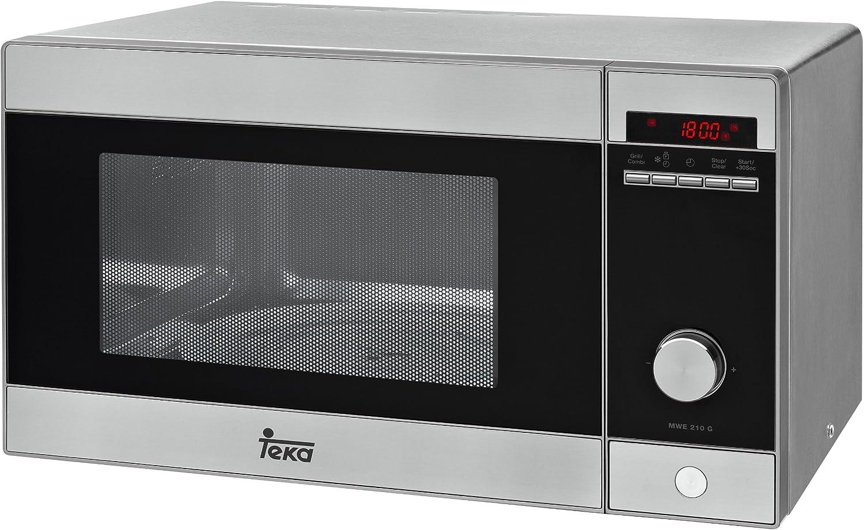 Teka - Microondas Mwe210G, 21L, 1000W/800W, Congrill, Programador ...