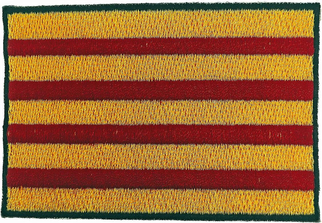 Gemelolandia Parche Bordado Termoadhesivo Bandera de Cataluña 8cm ...