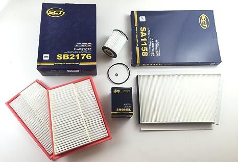 Filtro de aceite Filtro de aire pollef filtro SCT Alemania ...