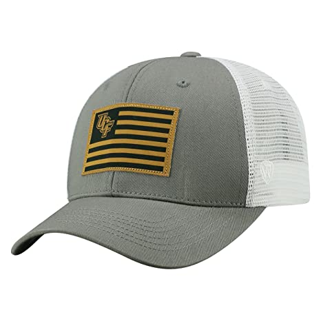 aa77d156bd4 Image Unavailable. Image not available for. Color  Top of the World Central  Florida Knights Official NCAA Adjustable Brave Cotton Mesh Trucker Hat Cap