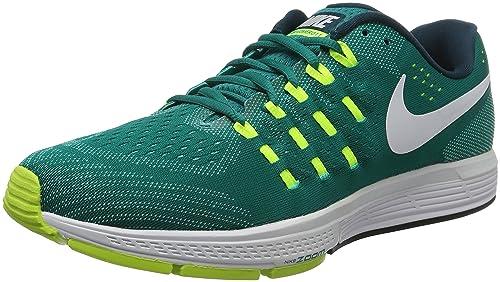 sports shoes 2594f a79a9 Nike Air Zoom Vomero 11, Scarpe da Corsa Uomo, Multicolore (Rio  TealWhite-Volt-Clear Jade), 46 EU Amazon.it Scarpe e borse